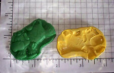 Cow Farm -Flexible Push Silicone Mold-Candy Cookie Crafts Cupcake Clay jump