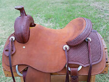 "16"" Spur Saddlery Ranch Cutting Saddle (Made in Texas)"