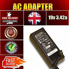 NEW TOSHIBA C660-120 19V 3.42A PSU LAPTOP ADAPTER BATTERY CHARGER