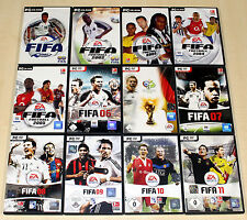 12 pc jeux collection EA FIFA FOOTBALL FOOTBALL 2001 2002-10 11 complet (13 14)