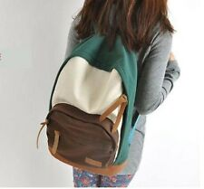 New 2014 Casual Women's Colorful Canvas Backpacks Girl Lady Student School