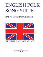 English Folk Song Suite Full Score Concert Band NEW 048006174
