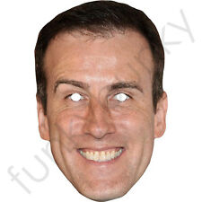 Anton du Beke Strictly Celebrity Card Mask Come Dancing All Masks Are Pre-Cut