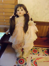 "Fayzah Spanos 23"" tall Kisses porcelain doll free shipping"