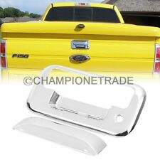 Chrome Tailgate Rear Door Handle Cover for 04-14 Ford F150 F250-550 SuperDuty CT