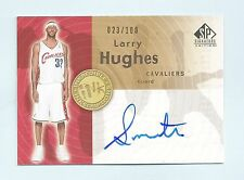 LARRY HUGHES 2005/06 SP SIGNATURE INKREDIBLE INSCRIPTIONS AUTOGRAPH AUTO /100