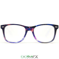 GloFX Galaxy Diffraction Glasses Galaxy Print Rave Prism Lightshow Rainbow Party
