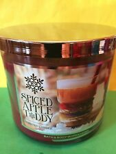Bath and Body Works Spiced Apple Toddy Large Full Size 3 Wick Candle
