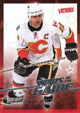 08-09 UPPER DECK VICTORY STARS OF THE GAME #SG-4 JAROME IGINLA FLAMES *8316