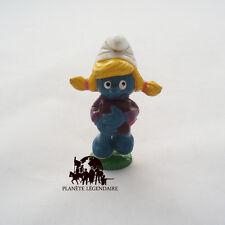 Figurine collection SCHTROUMPFETTE Ecolière Smurf SCHLEICH Germany PEYO