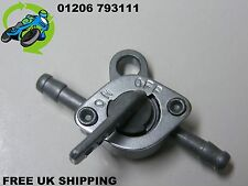NEW ON OFF IN-LINE 5MM FUEL TAP PETROL TAP/COCK WITH SINGLE MOUNTING BRACKET