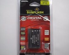 CASIO NP-90 Replacement Battery Li-Ion 3.7V 1550mAh by Digital Sunflash