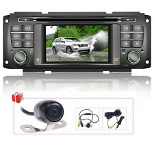 US Autoradio DVD GPS Satnav For Jeep Grand Cherokee/Liberty/Wrangler/Dodge