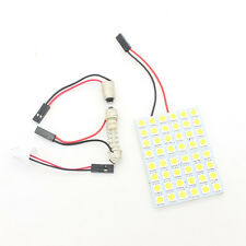 T10 BA9S 48SMD 5050 Panel led Festoon Dome Light Interior Lamp w5w c5w t4w