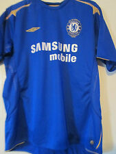 Chelsea 2005-2006 Home Football Shirt Size XL Mans /39890 adult