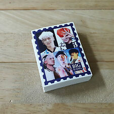 BigBang Mini Photo Sticker KPOP G-Dragon T.O.P Daesung Seungri Taeyang