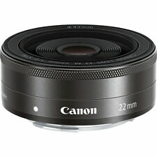WITHOUT BOX CANON EF-M 22mm F/2 STM LENS FOR M2 M3