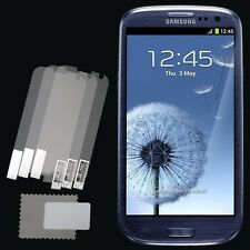 3x CLEAR PET Screen Protector for Samsung Galaxy S III S3/S3 LTE i9305/Neo i9300