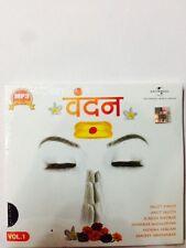 Vandan Vol-1 - Jagjit Singh, Anup Jalota, Etc - Original Universal Music MP3 CD