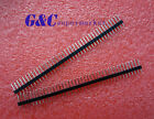 10PCS 2.54mm 40 Pin Male Single Row Pin Header Strip GOOD QUALITY