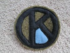 WWI US Army patch 95th Division Infantry patch AEF