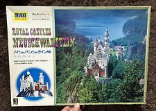 WEST GERMANY ROYAL CASTLES NEUSCHWANSTEIN DELUXE 1/220  MODEL KIT DOYUSHA JAPAN