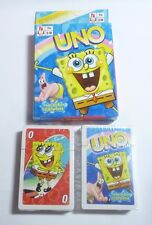 UNO Playing Cards Game Movie SPONGEBOB SQUAREPANTS Pack Sealed NEW