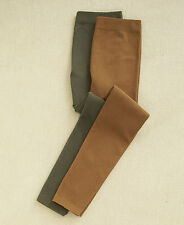 Women's Leggings Pants Brown/Olive 2-Pk Insulated Warm Medium 10/12