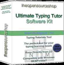 Typing Tutor Training Suite – Learn to Touch Type or Improve Touch Typing