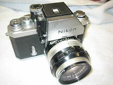 Nikon F Photomic  Camera Nikkor-S Auto 1:1.4 50mm Nippon Kogaku Japan Lens