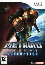 Metroid Prime 3: Corruption Nintendo Wii PAL COMPLETE