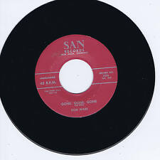 DON WADE - GONE GONE GONE / OH LOVE - FANTASTIC GUITAR ROCKABILLY 2-SIDER -REPRO