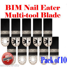 10 Nail Eater Oscillating Multi Tool Saw Blade For Fein Multimaster Bosch Dremel