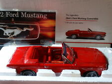 Precision 100 1964 1/2 Ford Mustang Convertible 1:18 Scale Die Cast Model Car