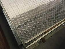 Aluminium Checker Plate Sheet 5 bar 1.6mm x 1200mm x 2400mm