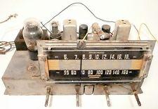 vintage CORONADO * model 46A76-658 TUBE RADIO:  good working CHASSIS 6A43-3B
