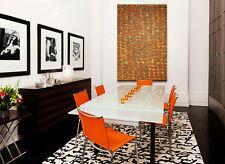 """ABORIGINAL ART PAINTING by NGOIA POLLARD NAPALTJARRI """"FATHER'S COUNTRY"""""""