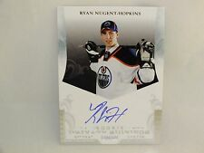 2011-12 PANINI PRIVATE SIGNINGS HOCKEY AUTO ROOKIE RYAN NUGENT-HOPKINS RN1