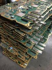 53 LBS TELECOM BOARD WITH HIGH YIELD GOLD PLATED SCRAP RECOVERY (AS IS) 30 PIECE