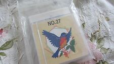 Nice Brother/Babylock machine embroidery card No 27 Birds Includes TEMPLATES