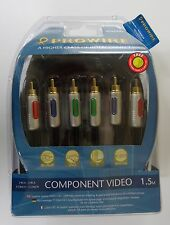 Vivanco Prowire High End RCA Component Video Cinch Kabel, 1,5m - PR/CR Y PB/CB