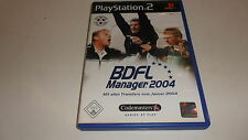 PlayStation 2  PS 2  BDFL Manager 2004