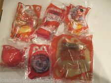 MR PEABODY & SHERMAN MOVIE MCDONALDS  HAPPY MEAL TOYS COMPLETE SET OF 6