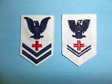 b1576 WW 2 US Navy WAVE Pharmacist's Mate 2nd Class Rate White
