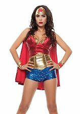 Starline Wonder Lady Wonder Woman Superhero Sexy Womens Costume L 12