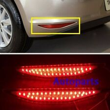 Rear Bumper Red LED Reflector tail Light Lamp For VW GOLF GTi 7 VII MK7 2014-16