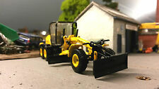 New Holland Motorart Road Grader F156.7A 1:87 HO/OO/00 Cararama Model Damaged