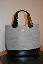 NEW! HUGO BOSS BLACK GREY TOTE SHOPPER BAG SEALED! PARFUMS 2017 STOCK!