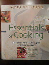 James Peterson Essential of Cooking Illustrated Guide Techniques Cookbook