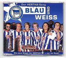 Hertha BSC Maxi-CD Blau Und Weiss - Der Hertha Song - 2-track CD fußball berlin